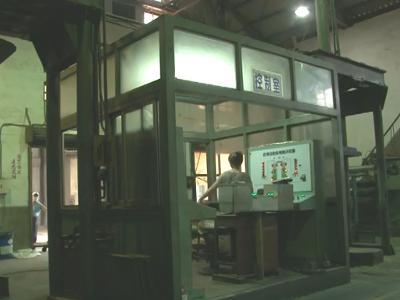 039 臺中大里菸葉廠-菸葉自動裝桶機:葉肉裝箱-國立屏東大學拍攝