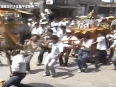 078 1984年東港東隆宮歲次甲子安龕平安祭典-宴王