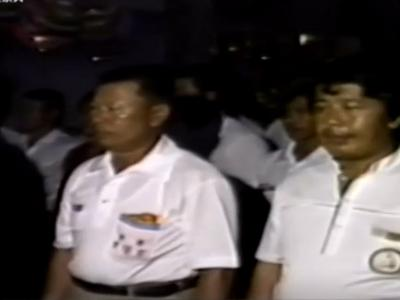 077 1984年東港東隆宮歲次甲子安龕平安祭典-平安遶境