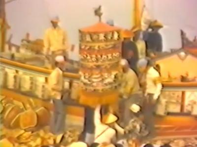 081 1979年東港東隆宮已未正科平安祭典-王船添載、宴王、送王