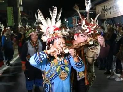 005 Tjiljuvekan頭目家傳統聯歡舞會─頭目家族感謝祭祀人員