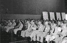 演習進行之前,參謀總長彭孟緝上將率國軍高級將領聽取簡報
