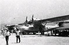 復興航空正式成立前 新機試航