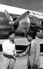 中泰正式開航 泰航與復興航空高層握手