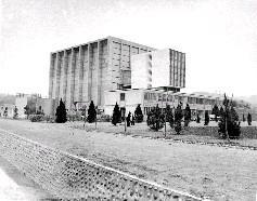 清華大學原子科學研究所的我國第一座水池式核子反應器實驗館大樓,為5層現代化建築物