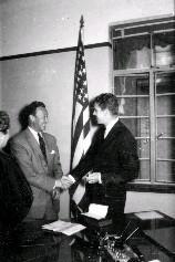 卜蘭德宣示就任美國國外業務總署駐華共同安全分署署長