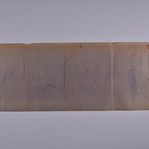 1898-省屬機構使用台糖土地圖袋-003-永康段位置圖台南農校用地出借