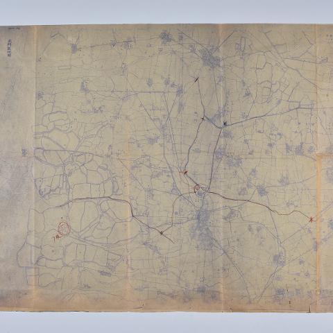 678-001 北門區地圖