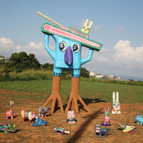 清泉崗公共藝術季 臨時性作品:戰雞
