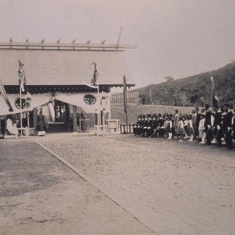 QG-Hh-h-19 清水神社主建築昭和12年