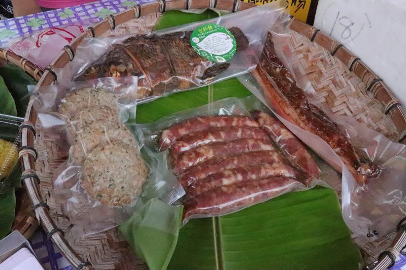 雲南美食文化季-潑水節(定遠社區):滇緬美食─香料肉餅、包料魚、臘肉、雲南香腸
