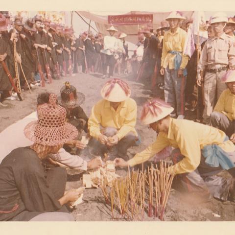 1970年東港東隆宮庚戌正科平安祭典-請水  1